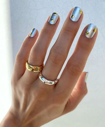 Mani of the Week: Shiny, Shiny Stars