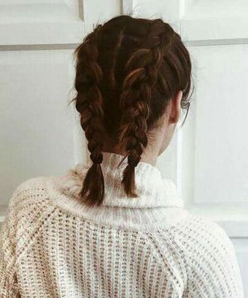 French Braided Pigtails