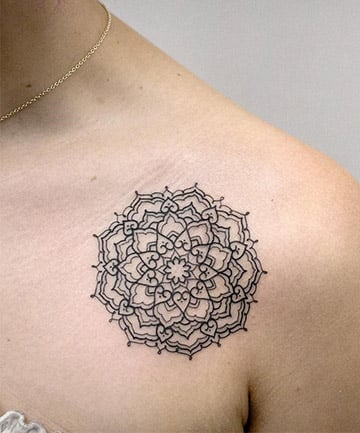 80ab2ff17 17 Mandala Tattoo Designs to Help Channel Your Inner Warrior Princess