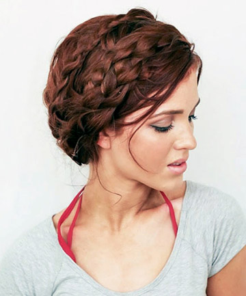 The Crown Braid for Beginners