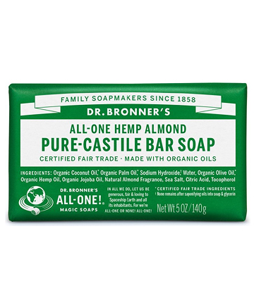 Dr. Bronner's All-One! Pure-Castile Bar Soap, $4.79