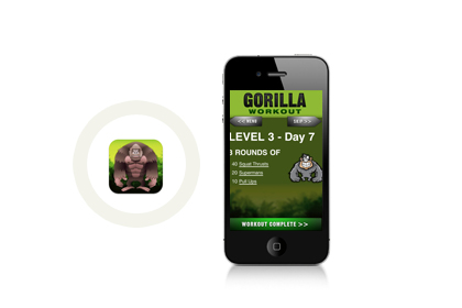 Gorilla Workout, $1.99