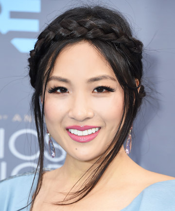 Look of the Day: Constance Wu's Braided Crown