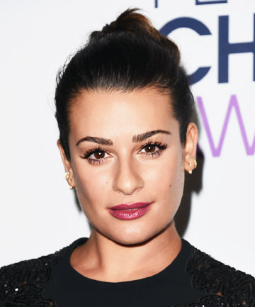 Look of the Day: Lea Michele's Berry Lip