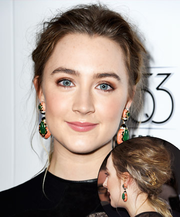 Look of the Day: Saoirse Ronan's Creative Hair Accessorizing