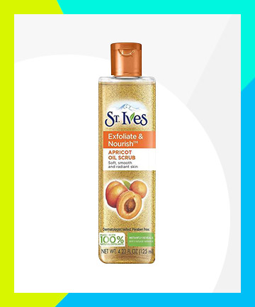 St. Ives Exfoliate & Nourish Apricot Oil Scrub, $6.89