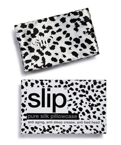 Slip Pure Silk Pillowcase In Black Leopard 85 When You