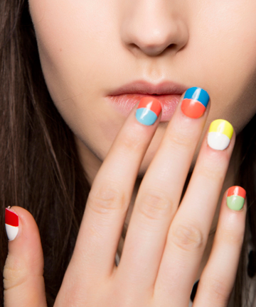 21 Color Soaked Nail Art Designs Perfect For Summer