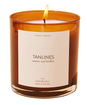 Sunday Forever Tanlines (Summer and Suntans) Candle, $46