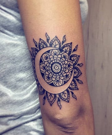 Creative Symbolism 17 Mandala Tattoos That Bring Out Your