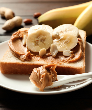 Pair Bananas With Peanut Butter