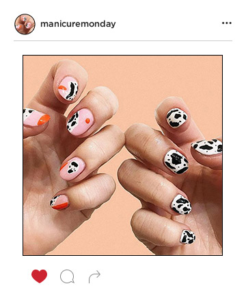 Mani of the Week: Contemporary Cows