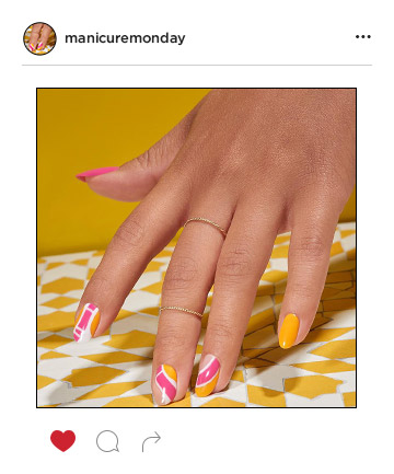 Mani of the Week: A Dose of Sunshine to Make You Smile