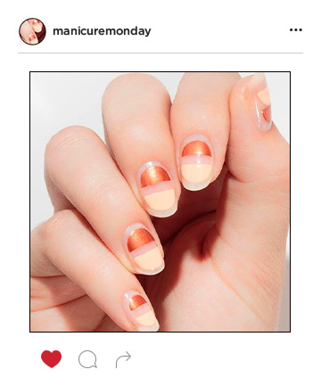 Mani of the Week: Nude With a Twist