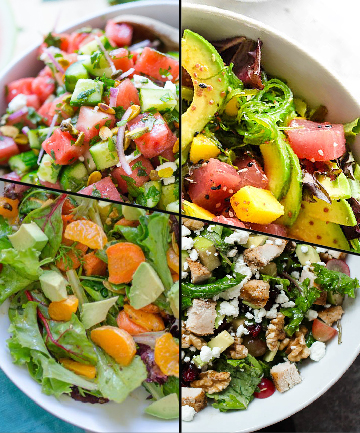 8 healthy salad recipes for skin or after a weekend of unrestricted brunching a salad starts to look like the perfect meal or perfect penance and if you give any thought to the food forumfinder Choice Image