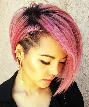 Rose Gold Asymmetrical Undercut, 26 Cute Short Haircuts That Aren\'t ...