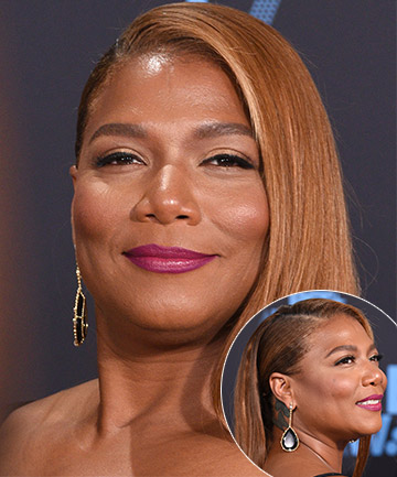 Look of the Day: Queen Latifah's Sexy, Slicked Back Style