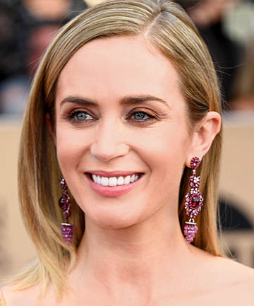 Look of the Day: Emily Blunt's Bronze Smoky Eye