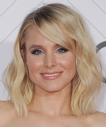 Look of the Day: Kristen Bell's Soft Smoky Eye