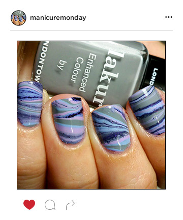 Mani of the Week: Geode Nails