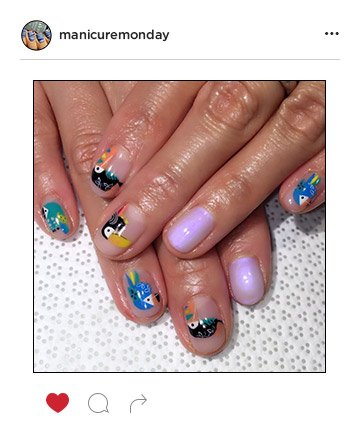 Mani of the Week: Birds of Paradise