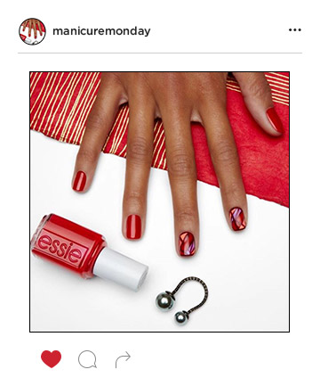Mani of the Week: Fiery Leo Inspired Nails