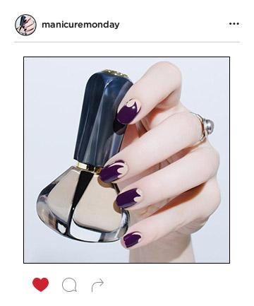 Mani of the Week: Pretty Purple Nails