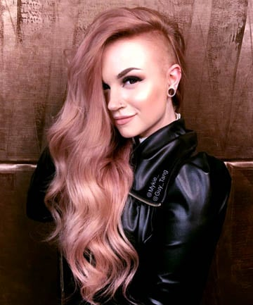 Metallic Rose Gold Hair 19 Color Looks That Absolutely Slay Page 9