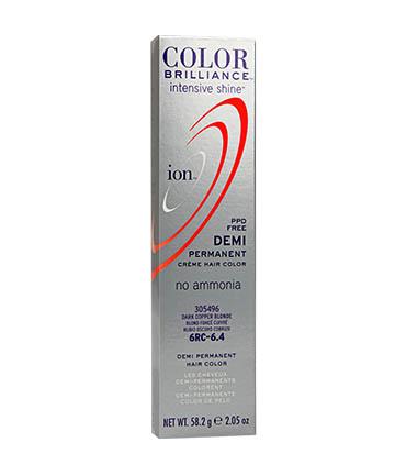 Ion Color Brilliance Intensive Shine Demi Permanent Creme 499 9
