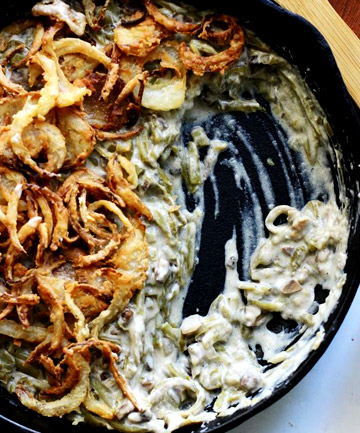 Leftover: Green Bean Casserole
