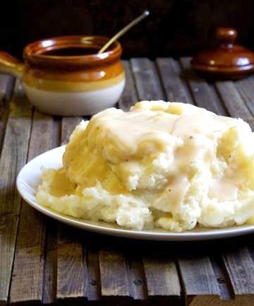 Leftover: Mashed Potatoes and Gravy