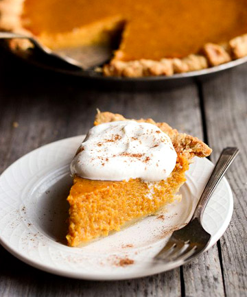 Leftover: Pumpkin Pie