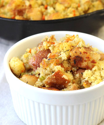 Leftover: Cornbread Stuffing