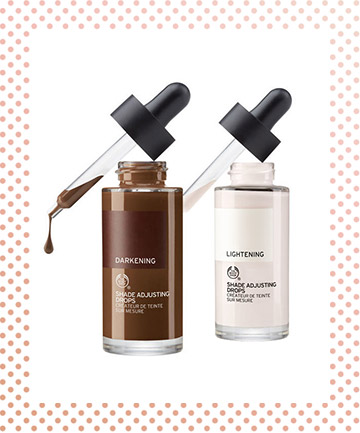 The Body Shop Shade Adjusting Drops Liquid Foundation, $20