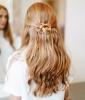 Boho Hairstyles: Go Halfsies
