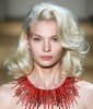 Channeling Marilyn Monroe at Jenny Packham