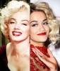 Marilyn Monroe's Bleach-Blonde Curls