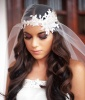 Beaded Bridal Headpiece for the Fashion-Forward Bride