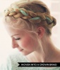 Woven Into a Crown Braid