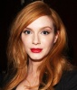 What's the secret to pulling off red lips and red hair?