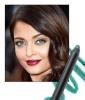 Aishwarya Rai's Bright Eyeliner