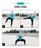 Butt Workout Move No. 6: Sumo Lunge