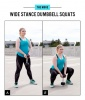 Butt Workout Move No. 1: Wide Stance Dumbbell Squats