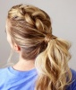 Rockabilly Braided Ponytail