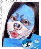 SNP Otter Aqua Character Printed Mask, $5