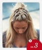 No. 3: Mohawk Braid Topknot