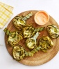 Best Picnic Recipes: Grilled Artichokes With Harissa-Honey Dip