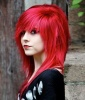 Emo Hair: Seeing Red