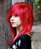 Emo Hair: Seeing Red