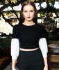 Zoey Deutch goes goth